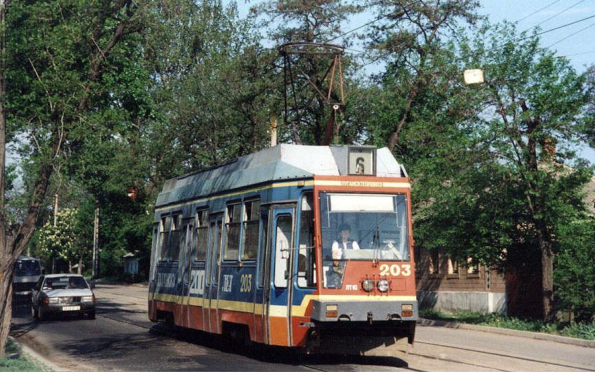 Луганский трамвай.